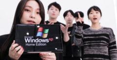 Az együttes felénekelte a közismert Windows rendszer dallamait. (Acapella)