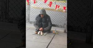 Mindig kell egy barát…(A hajléktalan és a patkányok)