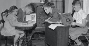 Nincs semmi új a nap alatt. A távoktatásban volt már részük a gyermekeknek több mint 80 évvel ezelőtt is.