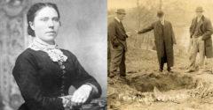 Sok férfit a farmjára csábított, de csak egy hagyta el azt élve. Megölt 40 embert, és még a saját halálát is megrendezte