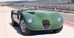 Csoda: itt a legendás 1951-es Jaguar C-Type újraépített modellje, összesen 8 darab készül belőle