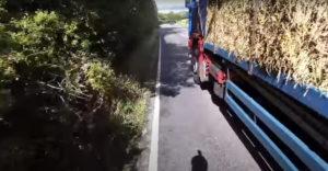 A kamionsofőr nem csinált nagy ügyet a kerékpárosból (A halál legyintése)