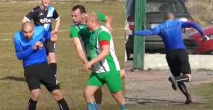 Amikor a bírónak a nyakába kell kapnia a lábait (Bolgár fociliga)