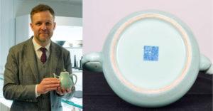 Ha ezzel a jellel ellátott porcelánt kapsz, semmiképpen ne dobd el. A férfi egy teáskannának köszönhetően milliomos lett
