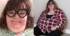 A 26 esztendős Erikát nem ismerik fel az utcán, miután 125 kg-ot fogyott.