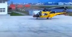 Balesetet szenvedhet a helikopter még a felszállás előtt? (Igen)