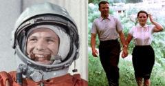 Űrutazása előtt Gagarin levelet írt a feleségének. Évekkel később hozták csak nyilvánosságra.