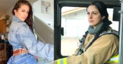 A fiatal tűzoltólányt kidobták állásából az Instagramos fotói miatt. A lány szerint a férfiaknak ilyet nem rónak fel.