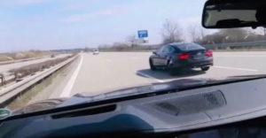 A német autópályán nem tudták utolérni az Audi A7-t.