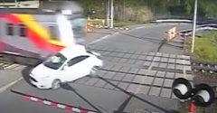 Elsodort autó