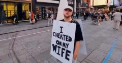 Megcsalta a feleségét, a bosszú nem váratott magára (Times Square)