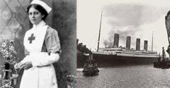 Az elsüllyeszthetetlen nő? Az utaskísérő túlélte mindhárom hajó, az Olympic, a Titanic és a Britannic katasztrófát is