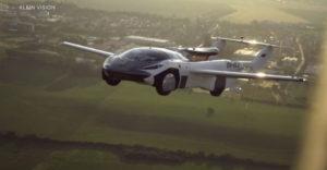 Sikeres 35 perces tesztrepülést hajtott végre az egyik repülő autó