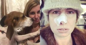 A kutya állandóan a gazdi orra körül szimatolt. Amikor elment az orvosához, rettenetes diagnózist hallott